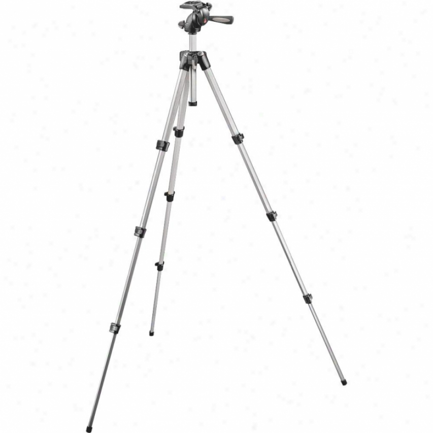 Manfrotto Bogen 394 Tripod With Integrated Photp/video Head Mk394h