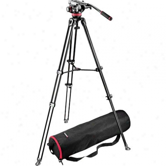 Manfrotto Mvh502a Head With Mvt502am Tripod Kit