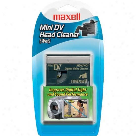 Maxell Mdv/hc1 Minidv Head Cleaner