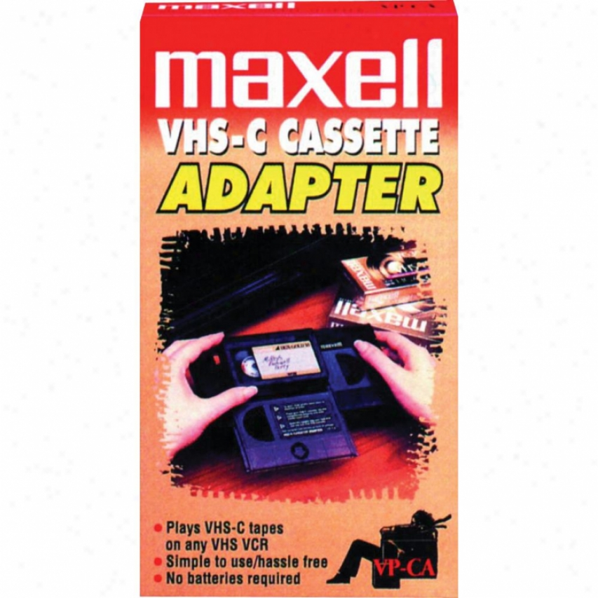 Maxell Vp-ca Vhs-c Adapter
