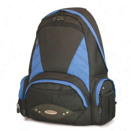 """Mobile Edge 16"""" Academic Backpack Bk/blu"""