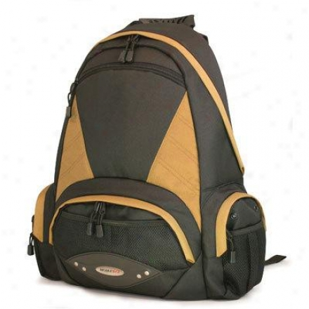 "Mobile Edge 16"" Academic Backpack Bk/gold"