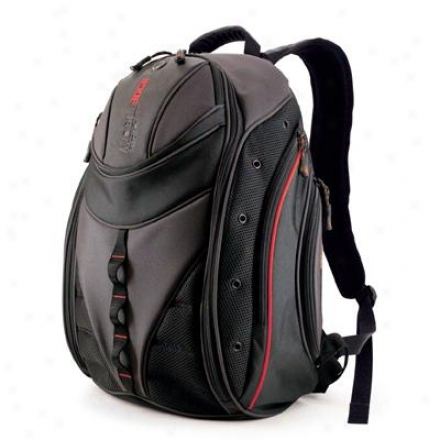 """Mobile Edge 16"""" Express Backpack Bk/red"""
