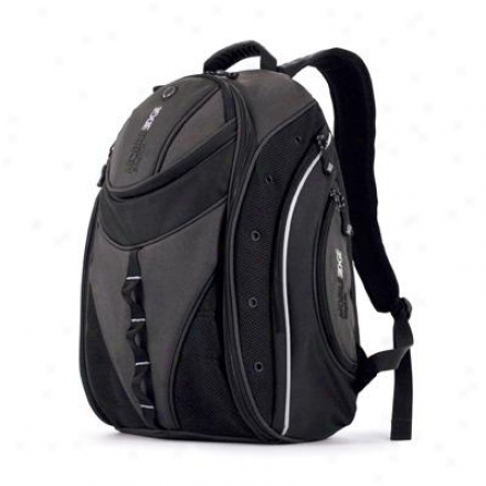 "Mobile Edge 16"" Express Backpack Bk/slv"
