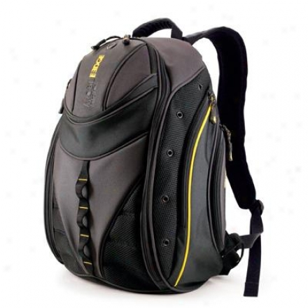 "Mobile Edge 16"" Express Backpack Bk/yellow"