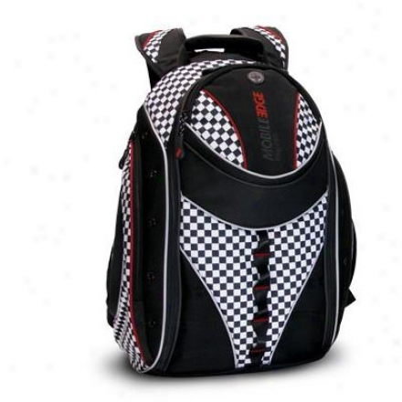 "Mobile Edge 16"" Express Backpack - B/w Che"