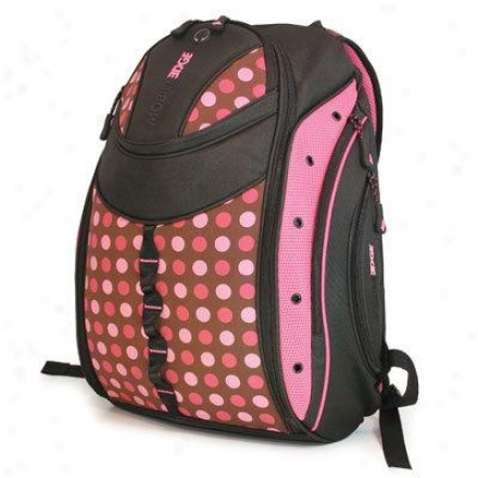 "Mobile Edge 16"" Express Bp-pink Dots"