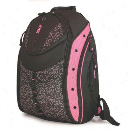 "Mobile Edge 16"" Express Bp-pink Ribbon"