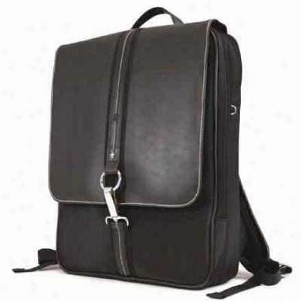 """Mobile Edgr 16""""paris Slimline Backpack Bk"""
