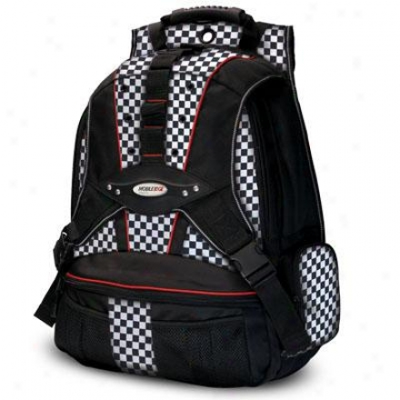 "Mobile Edge 17.3""premium Backpack - B/w Ch"