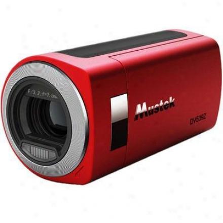 Mustek 5 In 1 Digital Camera Dv539z Red