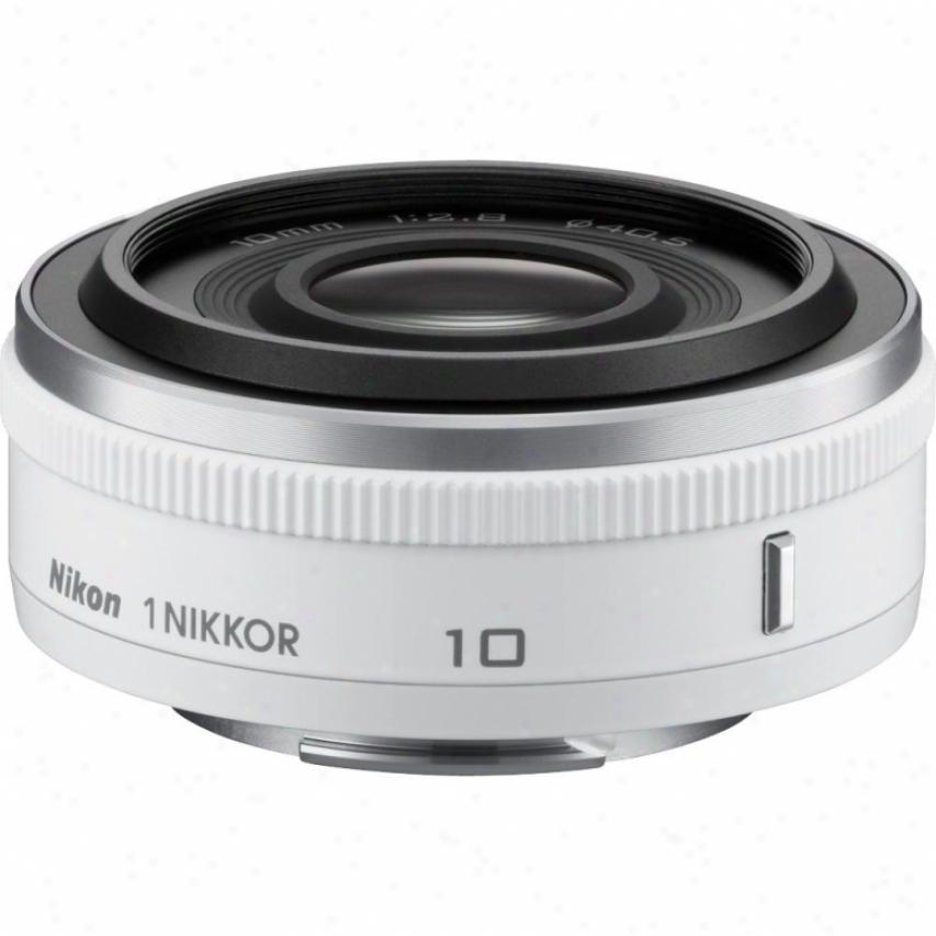 Nikon 1 Nikkor 10mm F/2.8 Lens - Pale - 3320