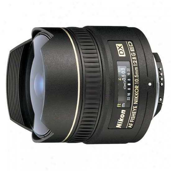 Nikon 10.5mj F/2.8g Af Dx Fisheye Nikkor Ed