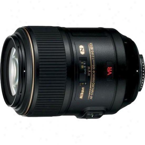 Nikon 105mm F/2.8g Af-s Vr Ed-if Micro-nikkor Lens