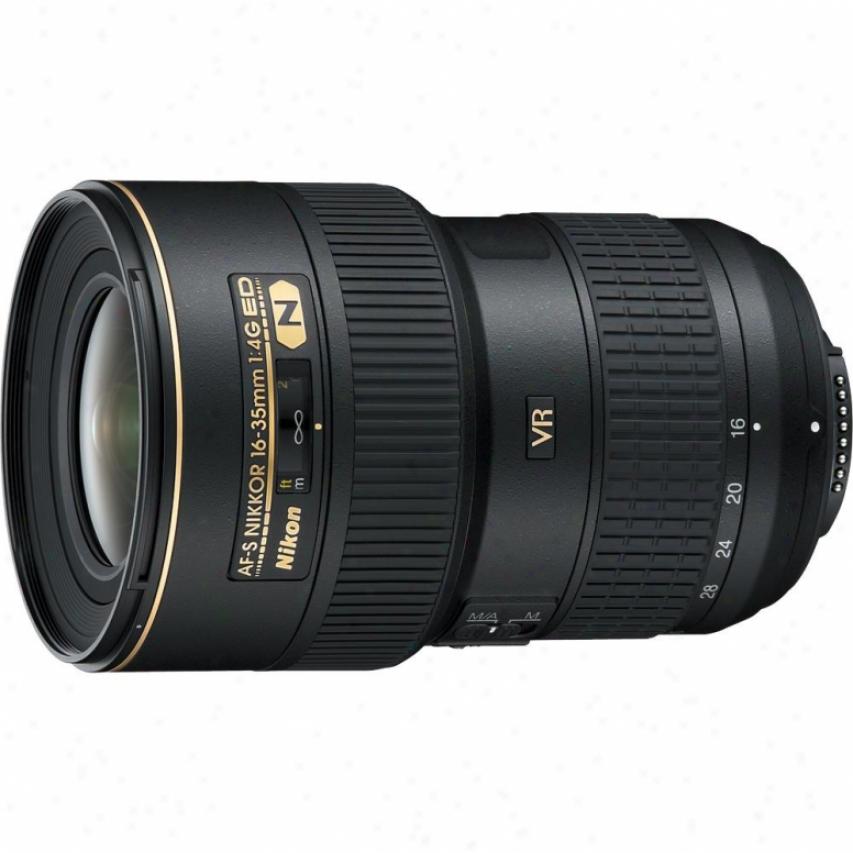 Nikon 16-35mm F/4g Af-s Ed Vr Nikkor Lens