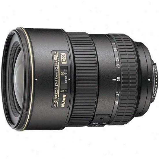 Nikon 17-55mm F/2.8g If-ed Af-s Dx Zoom Nikkor Lens