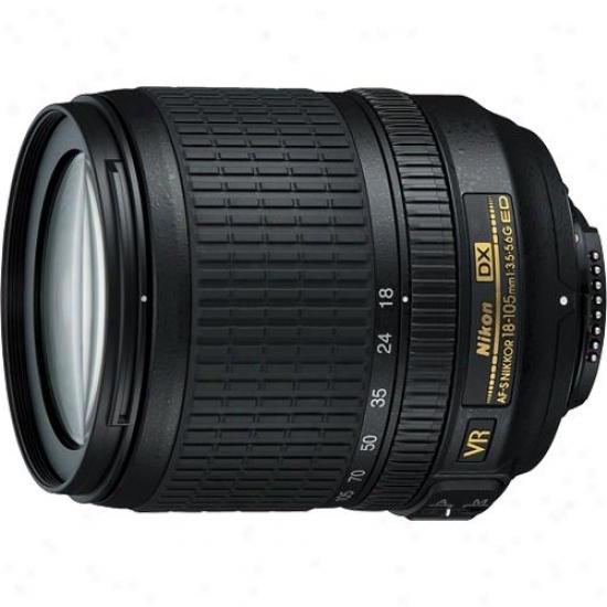 Nikon 18-105mm F/3.5 -5.6g Af-s Dx Nikkor Ed Vr