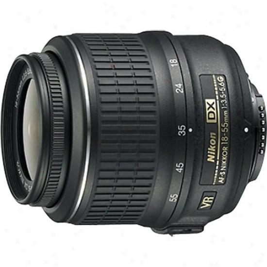 Nikon 18-55mm F/3.5-5.6g Af-s Dx Nikkor Vr Slr Camera Lens