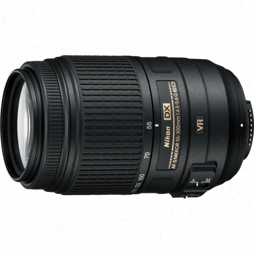 Nikon 2197 55-300mm F/4.5-5.6g Ed Af-s Dx Nikkor Vr Lens