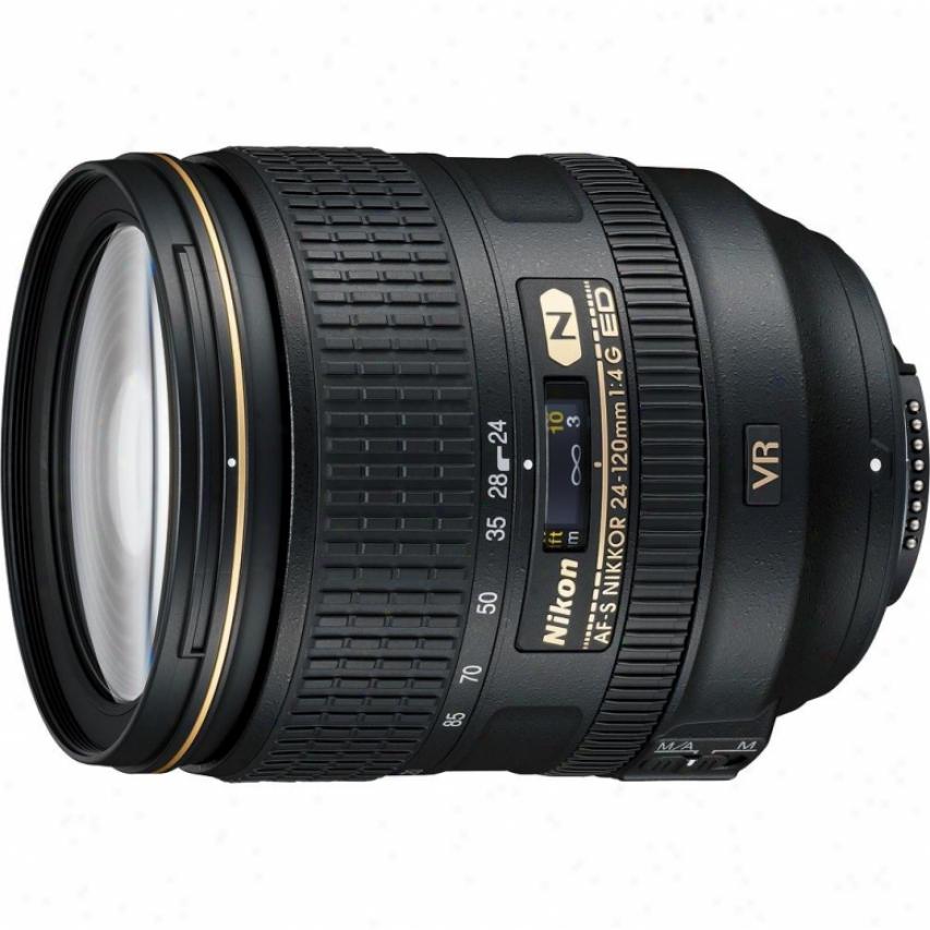 Nikon 24-120mm F/4g Af-s Ed Vr Nikkor Lens