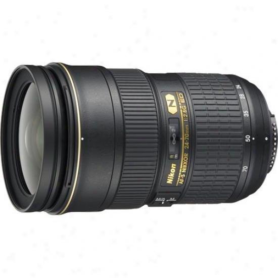 Nikon 24-70mm F/2.8g Af-s Nikkor Ed Lens