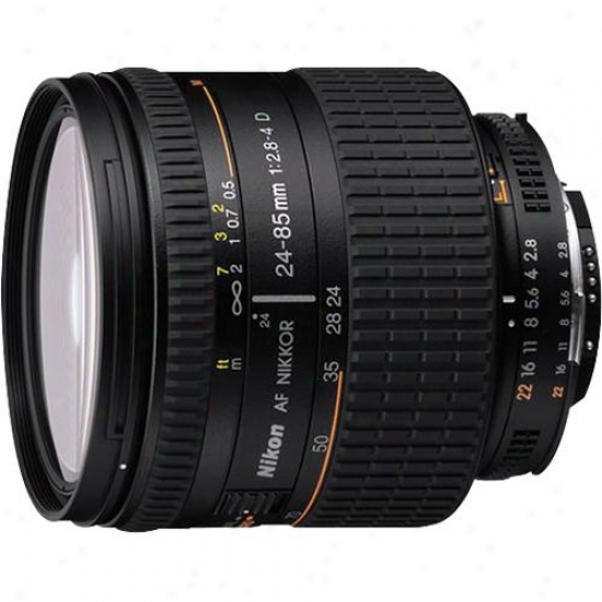 Nikon 24 - 85mm F/2.8 To 4 Lens For A Slr Camera