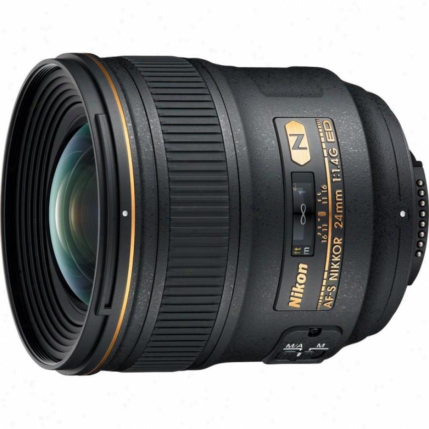 Nikon 24mm F/1.4g Af-s Ed Dslr Nikkor Lens
