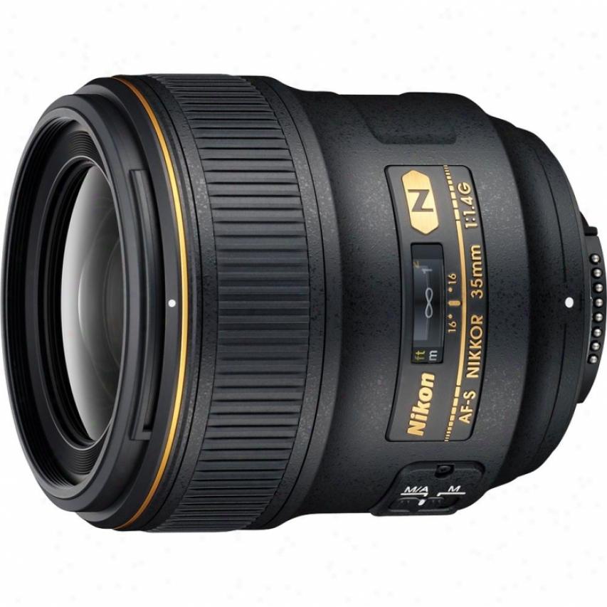 Nikon 35mm F/1.4g Af-s Nikkor Lens