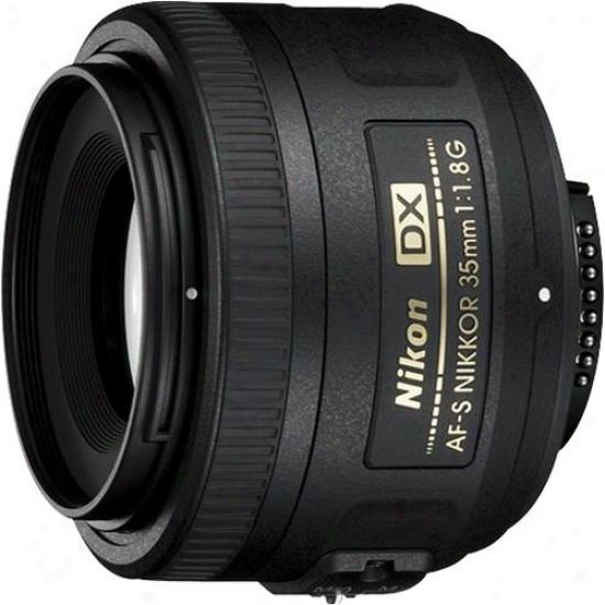 Nikon 35mm F/1.8g Af-s Dx Nikkkor Lens