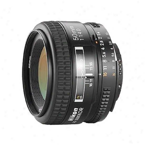 Nikon 50mm F/1.4 D-series