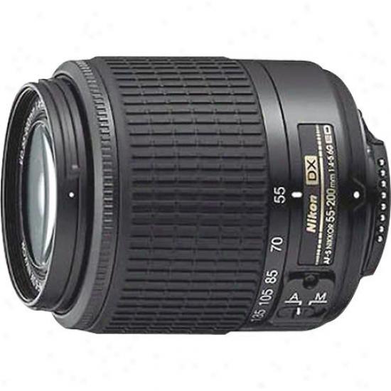 Nikon 55-200mm F/4-4 .6g Ed Af-s Dx Zoom Nikkor Lens