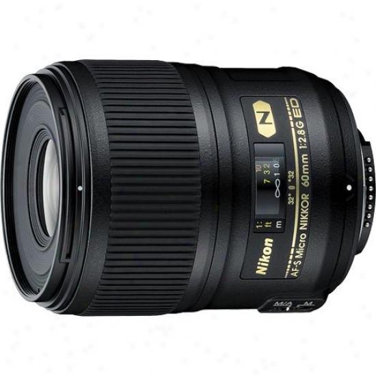 Nikpn 60mm F/2.8g Af-s Micro-nikkor Ed