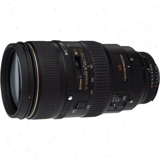 Nikon 80-400mm F/4.5-5.6d Af Vr Zoom Nikkor Ed