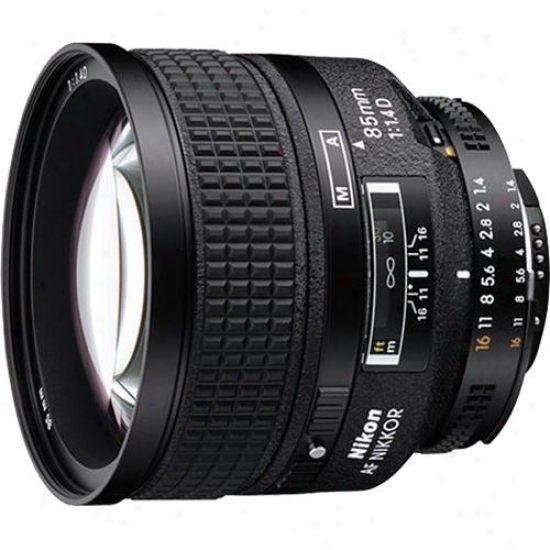 Nikon 85mm F/1.4 D-series Telephoto