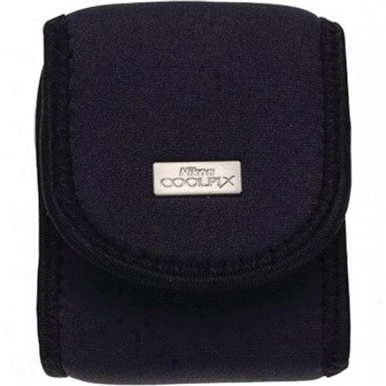 Nikon 9616 Neoprene Case For L Series Coolpix Cameeras - Black