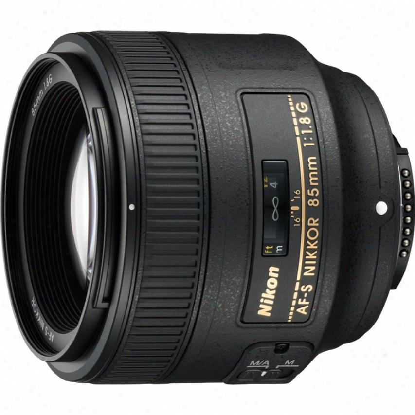 Nikon Af-s Nikkor 85mm F/1.8g Swm Telephoto Lens