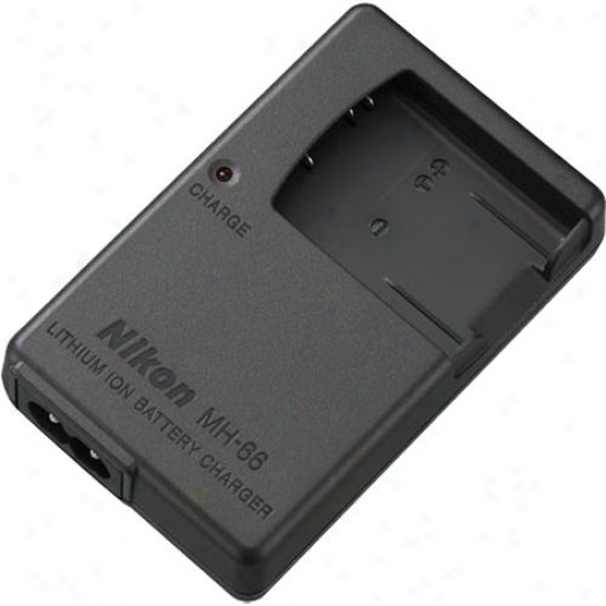 Nikon Battery Charger For Coolpix S3100 - S4100 Digital Camera Models Mh-66