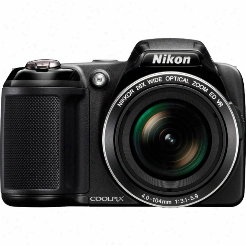 Nikon Coolpix L810 16 Megapixel Digital Camera - Black