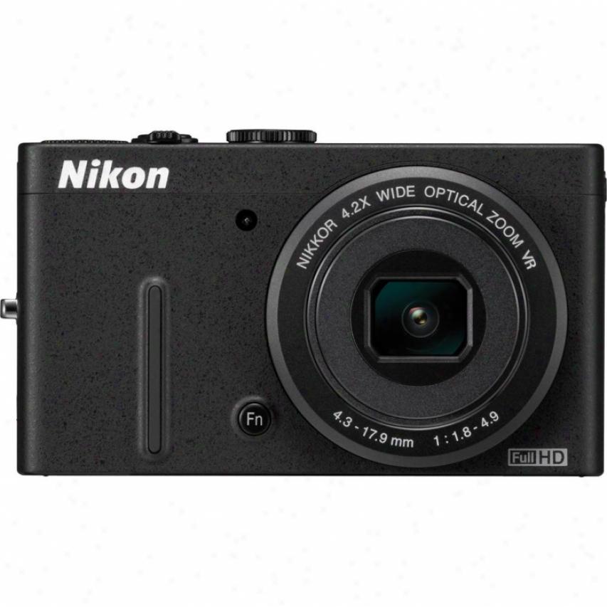 Nikon Coolpix P310 16 Megapixel Digital Camera - Black