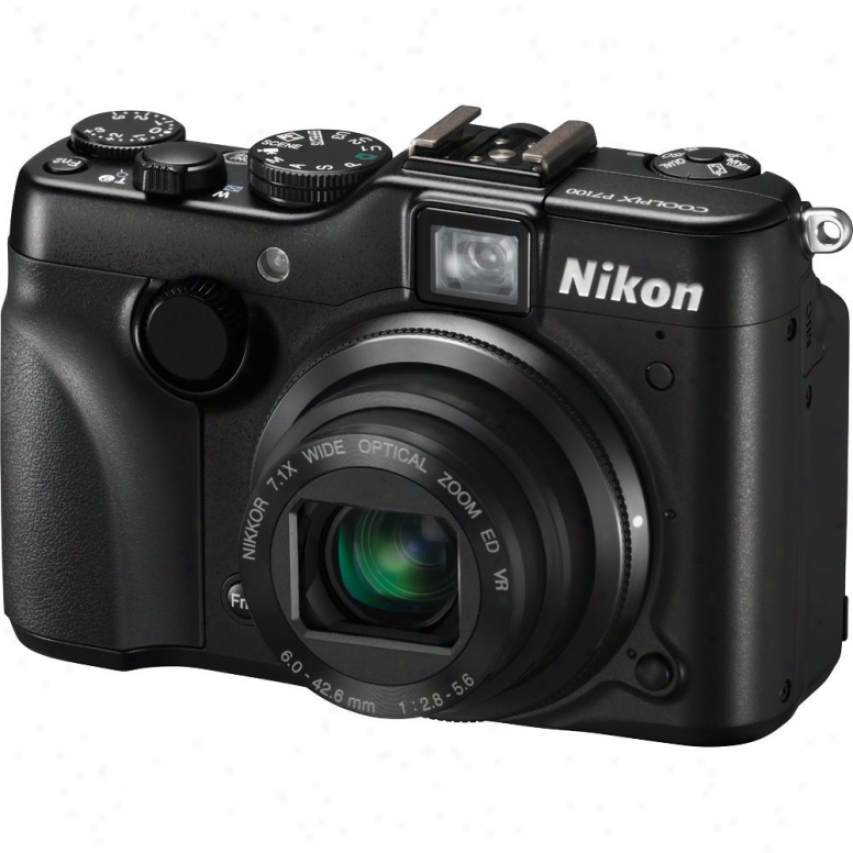 Nikon Coolpix P7100 10-megapixel Digital Camera - Black