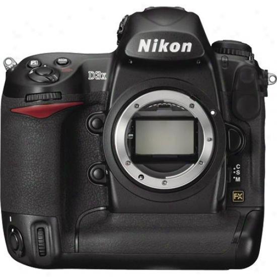 Nikon D3x Fx D-slr 24-megapixel Camera Body Onlu