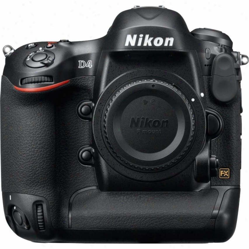 Nikon D4 Fx 16-megapixel Digital Slr Camera - Consistency Only