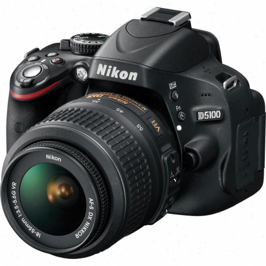 Nikon D5100 16 Megapixel Digital Slr And Lens Kit