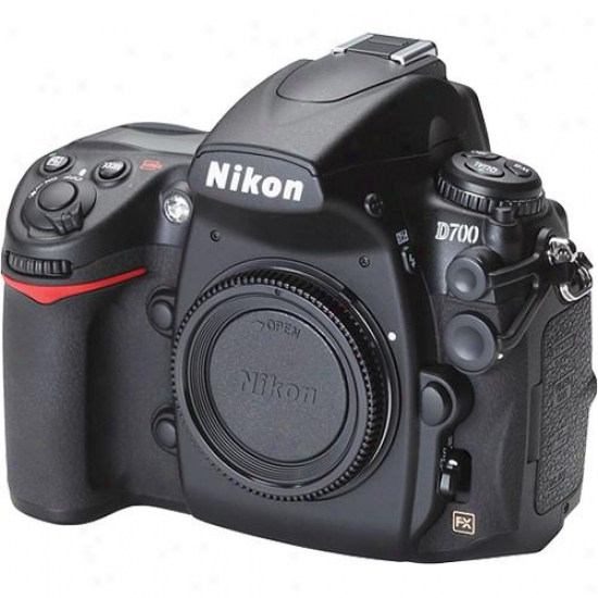 Nikon D700 12-megapixel Digital Slr Camera - Body Merely