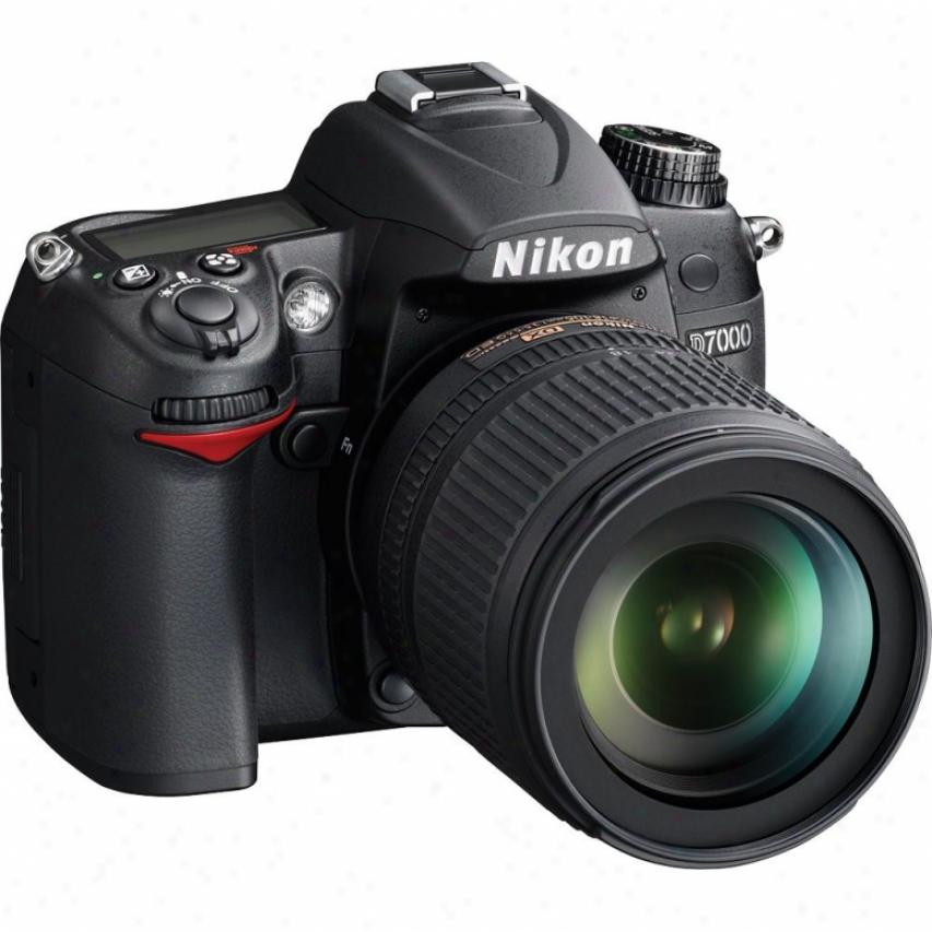 Nikon D7000 16-megapixel Digital Slr Camera - Kit 1