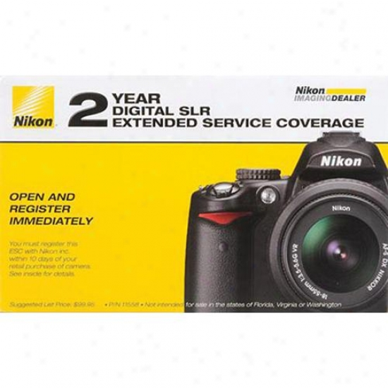 Nikon D7000 Officiai 2-year Extended Service Coverage