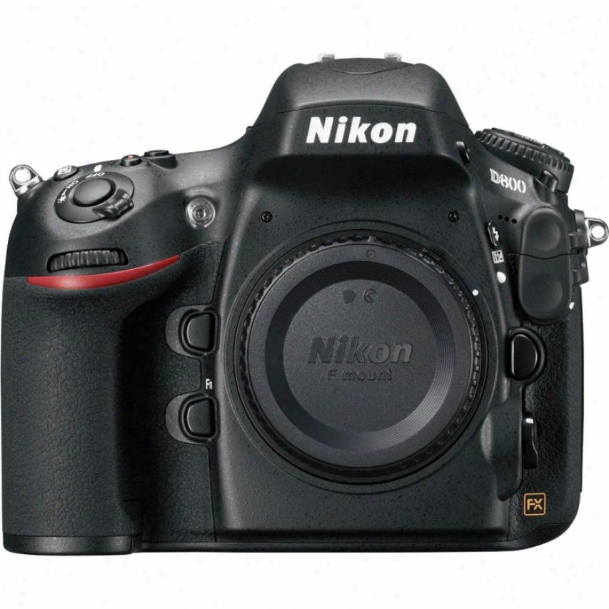 Nikon D800 36 Megapixel Digital Slr Camera - Body Only