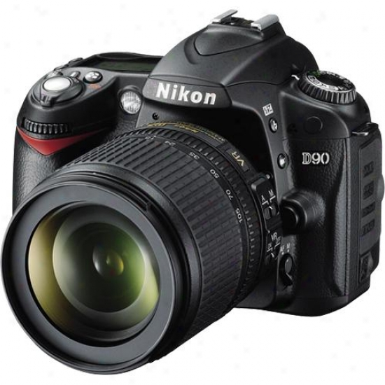 Nikon D90 12-megapixel Digital Slr Camera Kit With 18-105mm Dx Vr Lens
