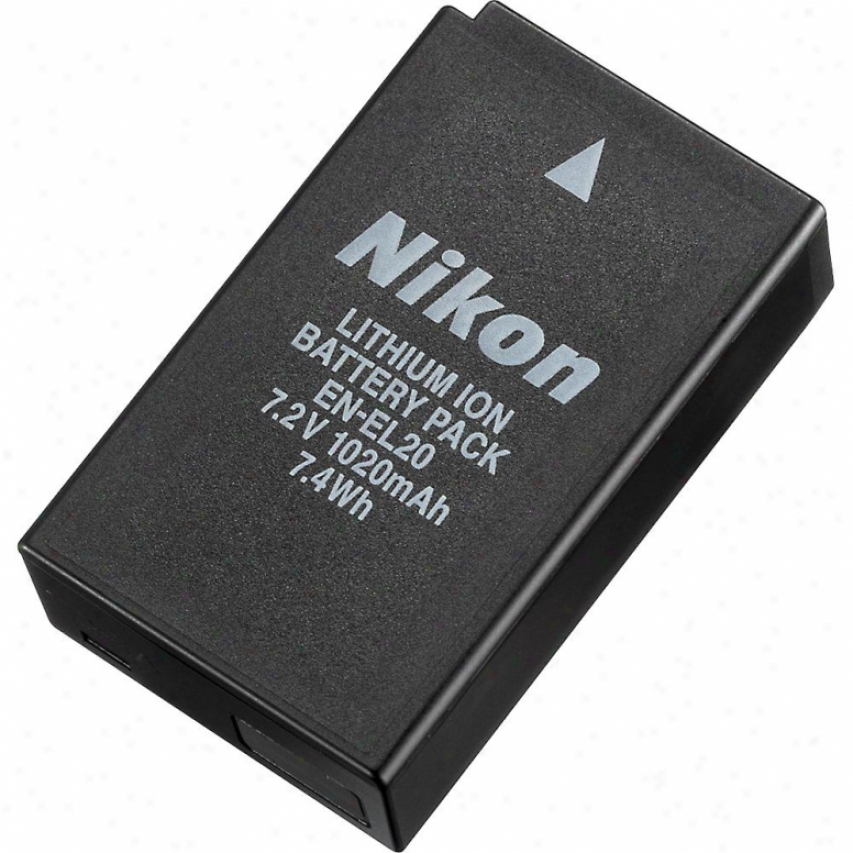 Nikon En-el20 Rechargeable Li-ion Battery/camera Battery - 3620