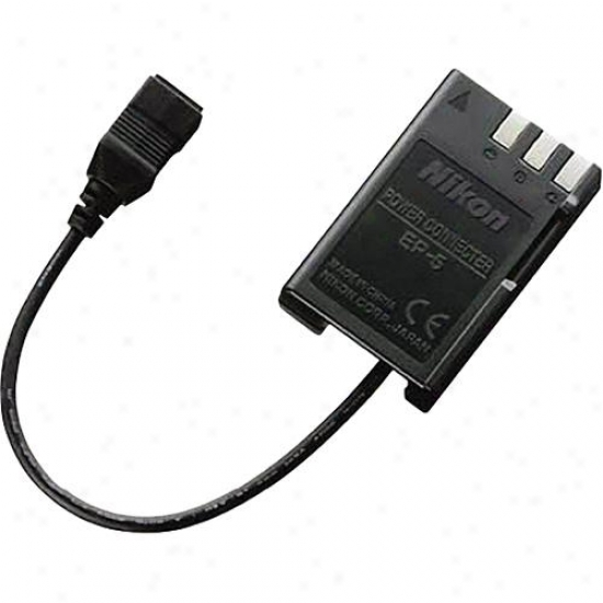 Nikoh Ep-5a Power Supply Connector For Eh-5a Ac Adapt3r